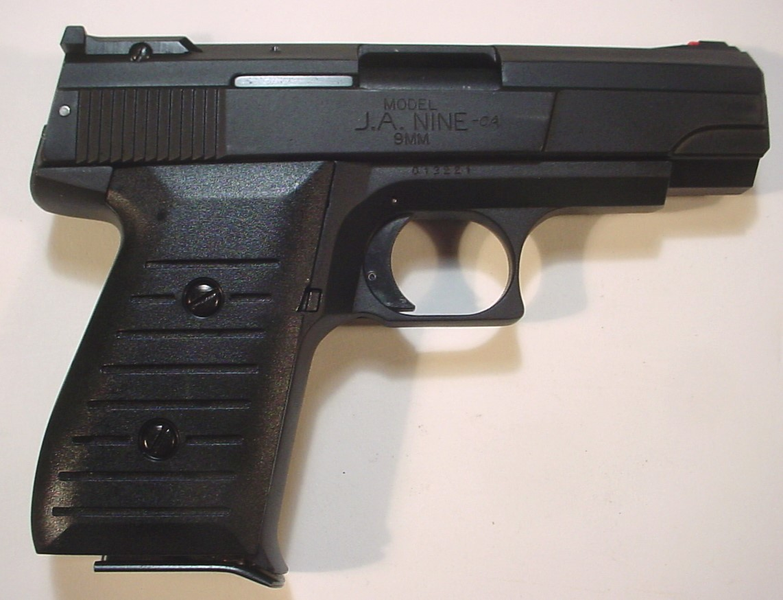 Jimenez Arms Jimenez Ja Nine 9mm Pistol-Nib -Lifetime Warranty